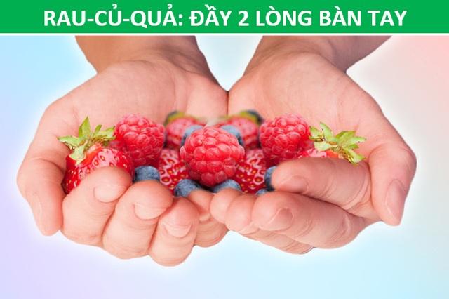 Mẹo hay: Xác định lượng thức ăn phù hợp với cơ thể chỉ bằng…bàn tay - 5