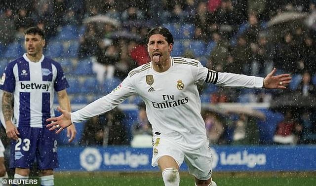 Ramos tỏa sáng, Real Madrid tạm chiếm ngôi đầu bảng La Liga - 3