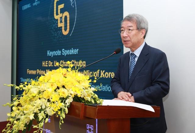 Nguyên Thủ tướng Hàn Quốc: Giáo dục ĐH phải thúc đẩy sáng tạo và tư duy phản biện của sinh viên - 1
