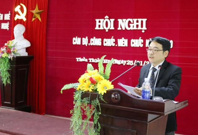 Vì sao chậm bổ nhiệm 2 Giám đốc Sở tại Thừa Thiên Huế? - 5
