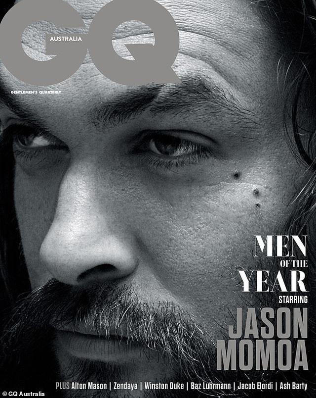"""Jason Momoa trở thành """"Người đàn ông của năm"""" - 2"""
