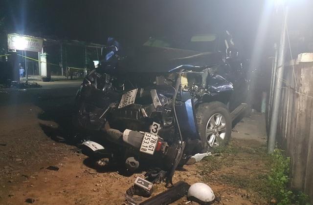 Vụ xe bán tải tông chết 4 người ở Phú Yên: Tài xế  nghi có uống rượu bia - 1