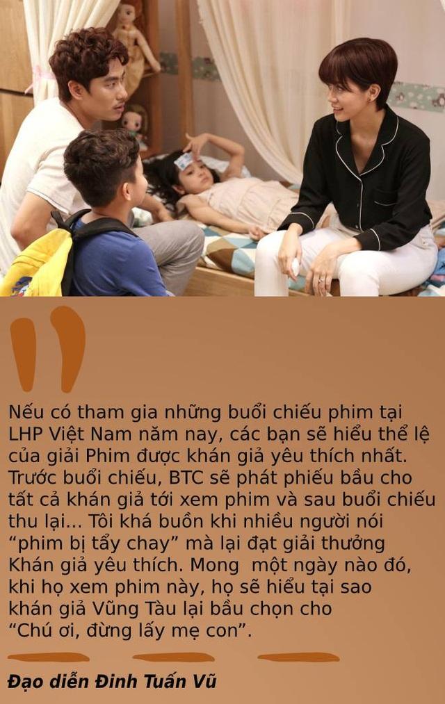 Tranh luận về những cái tên được xướng lên tại lễ trao giải LHP Việt Nam - 7