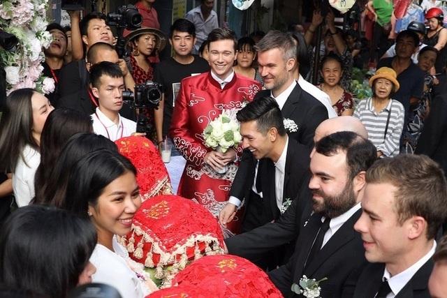 Vợ chồng Hoàng Oanh cấp cứu trước ngày cưới, xúc động trao nhầm nhẫn trong Lễ vu quy - 9