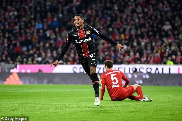 Bayern Munich  1-2 Leverkusen: Trái đắng cho Hùm xám ngay trên sân nhà - 1