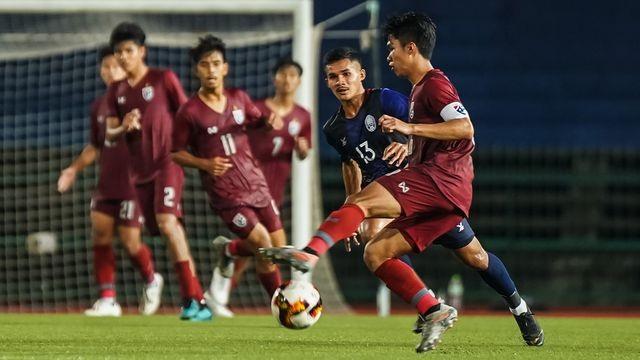 U19 Campuchia theo chân Việt Nam, Lào dự giải U19 châu Á - 1