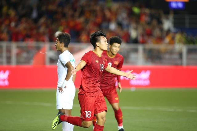 U22 Việt Nam 2-1 U22 Indonesia: Cú ngược dòng ngoạn mục - 8
