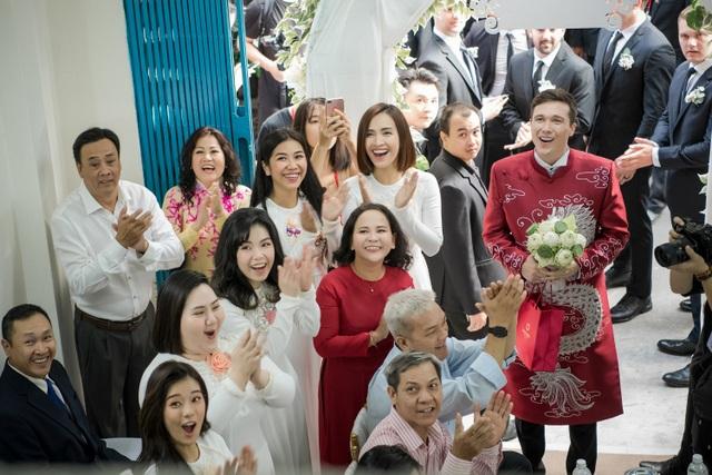 Vợ chồng Hoàng Oanh cấp cứu trước ngày cưới, xúc động trao nhầm nhẫn trong Lễ vu quy - 8