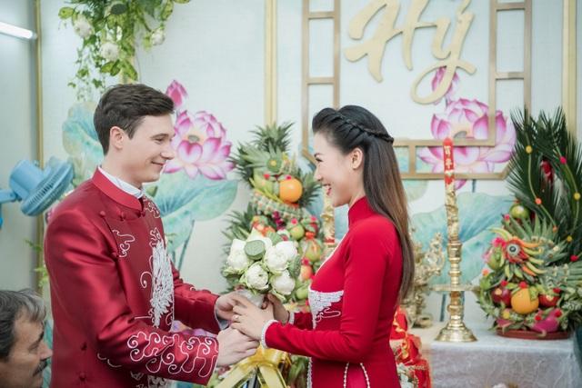 Vợ chồng Hoàng Oanh cấp cứu trước ngày cưới, xúc động trao nhầm nhẫn trong Lễ vu quy - 12