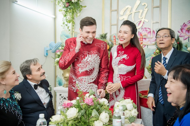 Vợ chồng Hoàng Oanh cấp cứu trước ngày cưới, xúc động trao nhầm nhẫn trong Lễ vu quy - 14