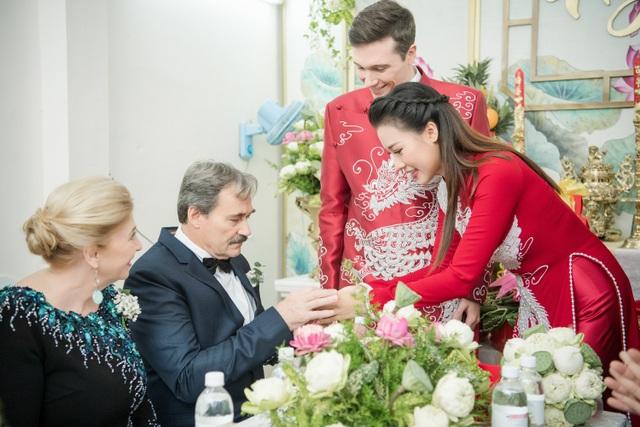 Vợ chồng Hoàng Oanh cấp cứu trước ngày cưới, xúc động trao nhầm nhẫn trong Lễ vu quy - 23