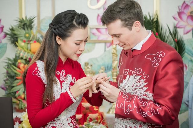 Vợ chồng Hoàng Oanh cấp cứu trước ngày cưới, xúc động trao nhầm nhẫn trong Lễ vu quy - 20