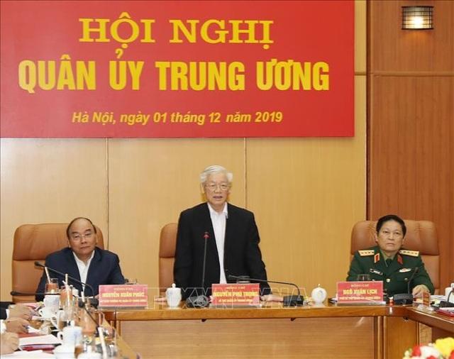 Quân ủy Trung ương tổng kết công tác quân sự, quốc phòng năm 2019 - 1