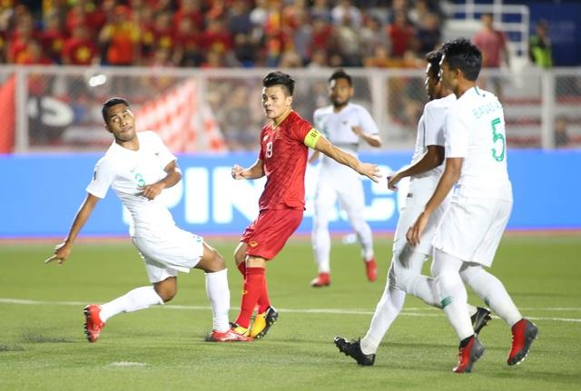 U22 Việt Nam 2-1 U22 Indonesia: Cú ngược dòng ngoạn mục - 7