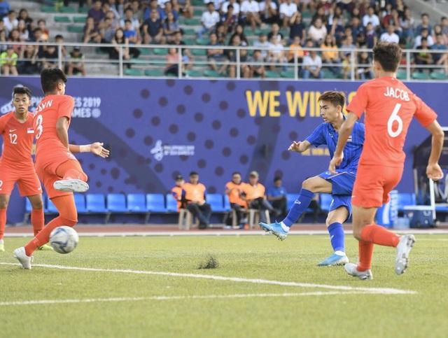Báo Thái lại tâng bốc đội nhà sau chiến thắng trước U22 Singapore - 2