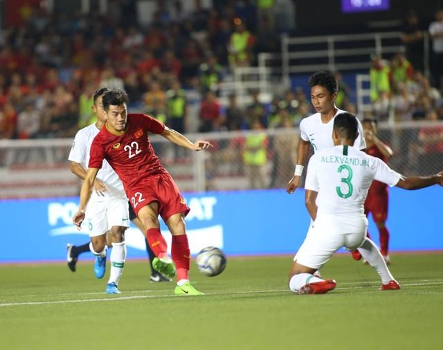 U22 Việt Nam 2-1 U22 Indonesia: Cú ngược dòng ngoạn mục - 15