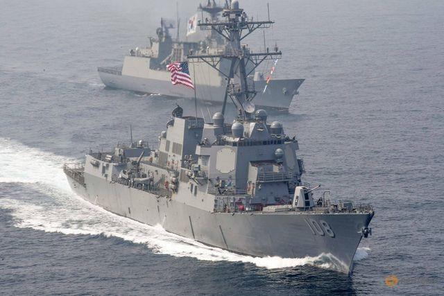 Liên tiếp đưa tàu tới Biển Đông, Mỹ gửi thông điệp cứng rắn tới Trung Quốc - 1