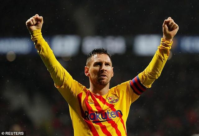 Lionel Messi tỏa sáng, Barcelona thắng sát nút Atletico - 6