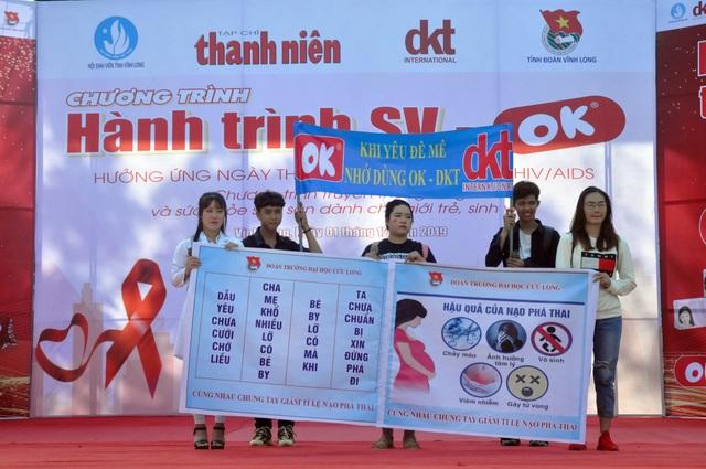 Sinh viên hành động thiết thực phòng, chống HIV/AIDS - 2