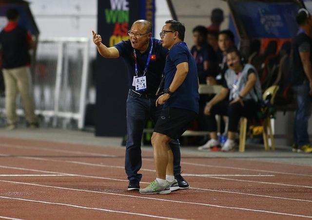 Cảm xúc đặc biệt của HLV Park Hang Seo trong trận đấu với U22 Indonesia - 3