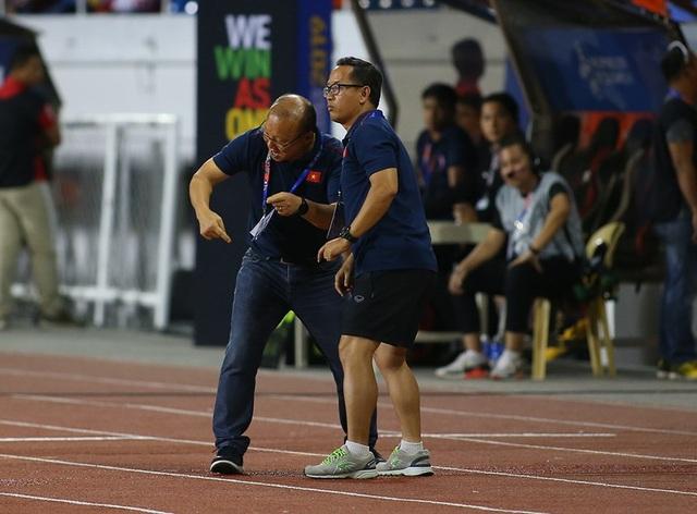 Cảm xúc đặc biệt của HLV Park Hang Seo trong trận đấu với U22 Indonesia - 5