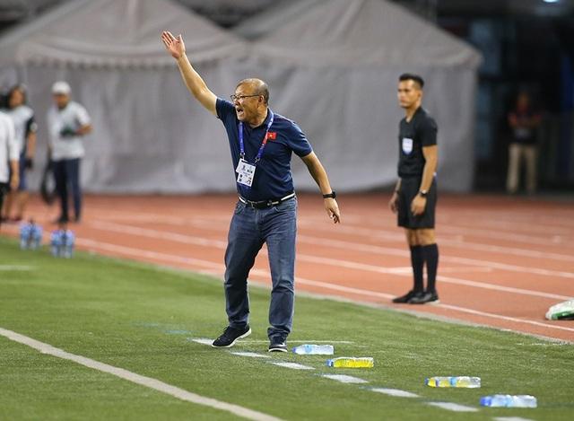 Cảm xúc đặc biệt của HLV Park Hang Seo trong trận đấu với U22 Indonesia - 2