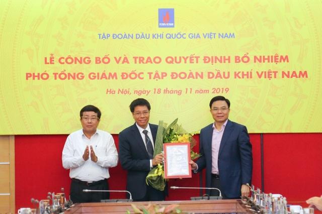 PVN công bố và trao quyết định Phó Tổng giám đốc Tập đoàn - 1