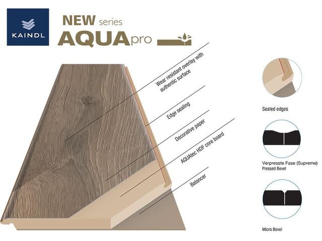 Sàn gỗ Áo ra mắt sản phẩm mới: Sàn gỗ siêu chịu nước Kaindl Aqua Pro - 3