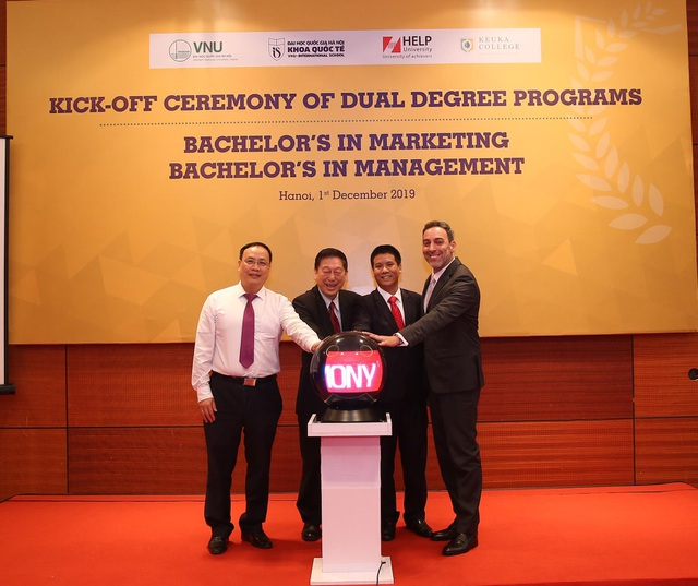 ĐH Quốc gia Hà Nội: Mở chương trình đào tạo đồng cấp bằng với trường đại học nước ngoài - 1