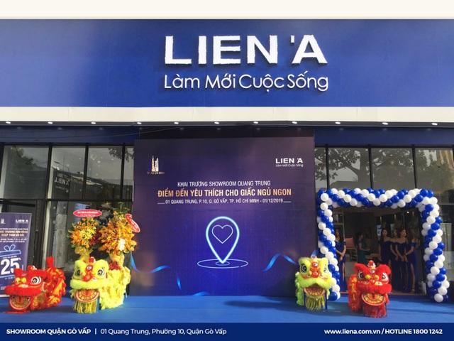 Showroom Liên Á tại số 1 Quang Trung - Số 1 về sáng tạo trải nghiệm nệm - 1