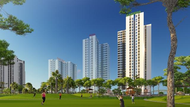 Hồng Hà Eco City mở bán tòa căn hộ Gardenia - 1