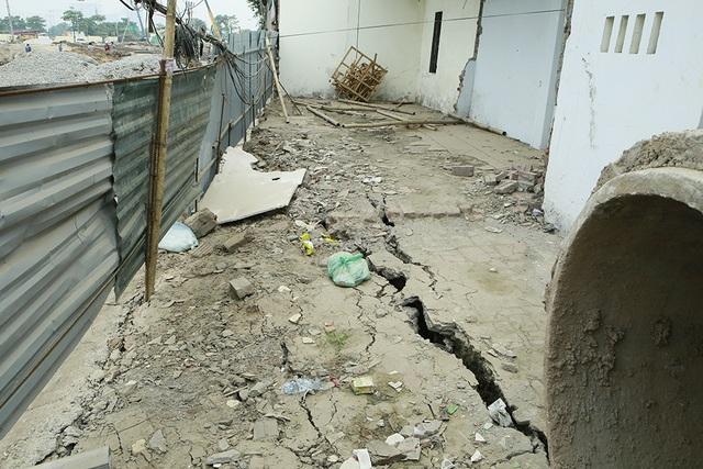 Thi công dự án cống hóa gây nứt nhà, người dân phải sơ tán - 7