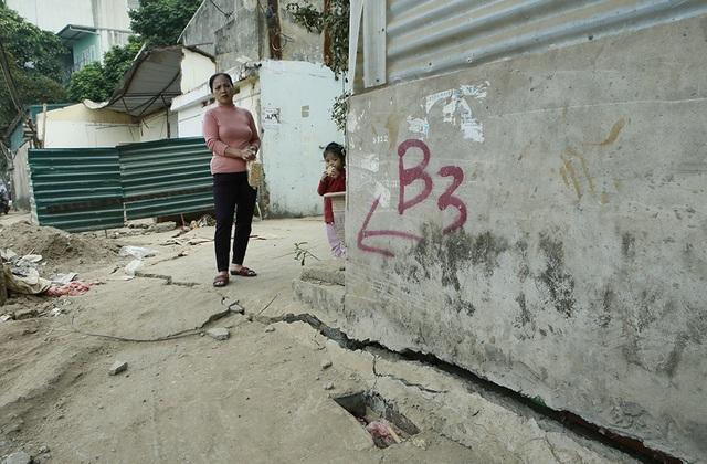 Thi công dự án cống hóa gây nứt nhà, người dân phải sơ tán - 11