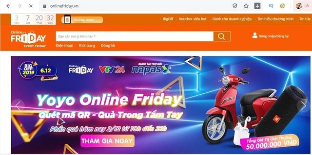 Ngày mua sắm Online Friday 2019 sẽ có lượng giao dịch khủng lên tới 2.500 tỷ đồng - 2