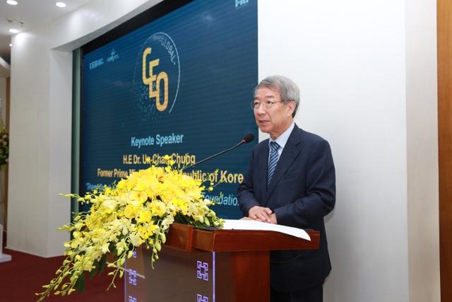 Nguyên Thủ tướng Hàn Quốc đánh giá cao chương trình Quản trị cấp cao toàn cầu của UEH và FKI - 1
