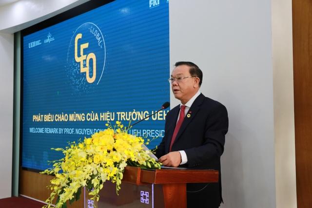 Nguyên Thủ tướng Hàn Quốc đánh giá cao chương trình Quản trị cấp cao toàn cầu của UEH và FKI - 2