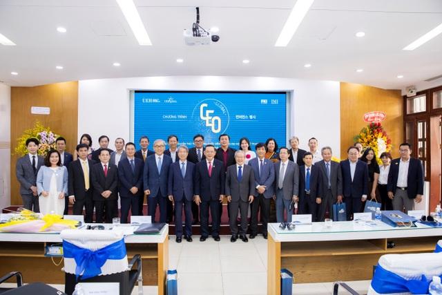 Nguyên Thủ tướng Hàn Quốc đánh giá cao chương trình Quản trị cấp cao toàn cầu của UEH và FKI - 3