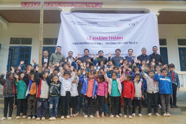 Thêm một điểm trường vùng biên giới Nghệ An được khánh thành - 2