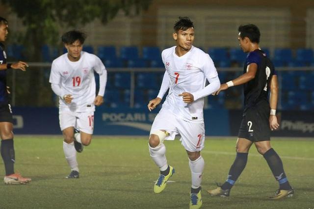 Đánh bại U22 Campuchia, U22 Myanmar giành vé vào bán kết với ngôi đầu bảng - 1