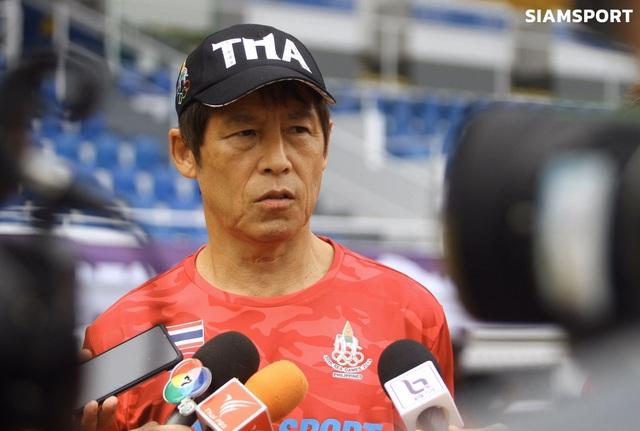U22 Thái Lan mở cửa với truyền thông sau sự cố nghi bị ghi hình lén - 1