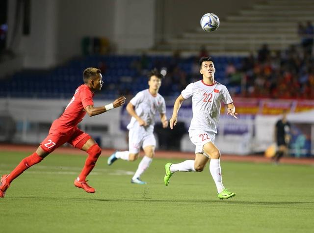 U22 Việt Nam 1-0 U22 Singapore: Đức Chinh ghi bàn quý giá - 8
