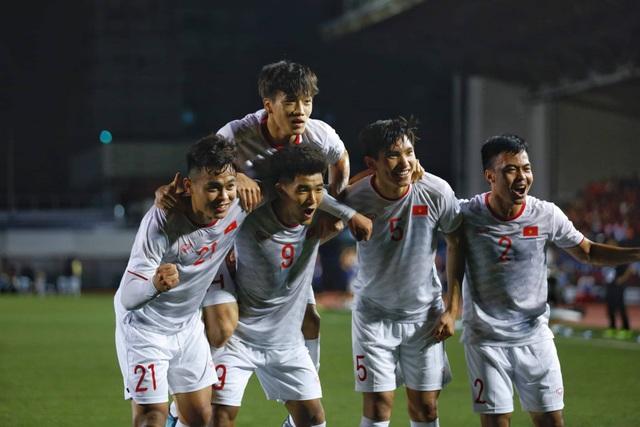 U22 Việt Nam 1-0 U22 Singapore: Đức Chinh ghi bàn quý giá - 1