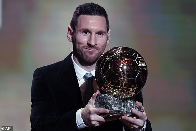 Lionel Messi lần thứ 6 giành Quả bóng vàng - 3