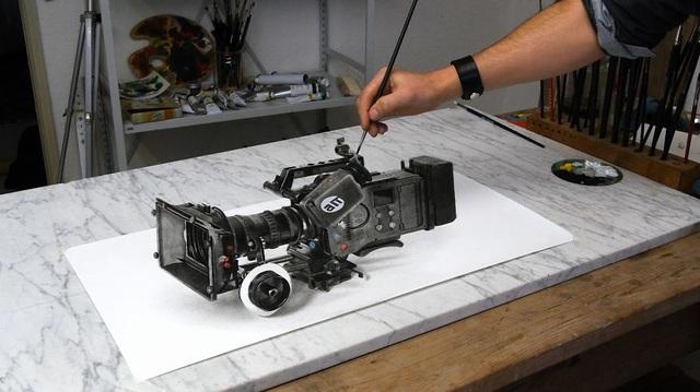 Choáng ngợp trước những bức vẽ 3D siêu chân thực - 3