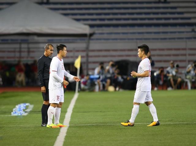 U22 Việt Nam 1-0 U22 Singapore: Đức Chinh ghi bàn quý giá - 13