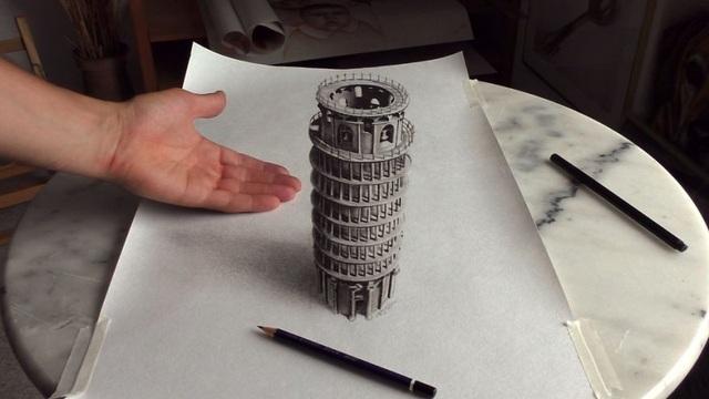 Choáng ngợp trước những bức vẽ 3D siêu chân thực - 6