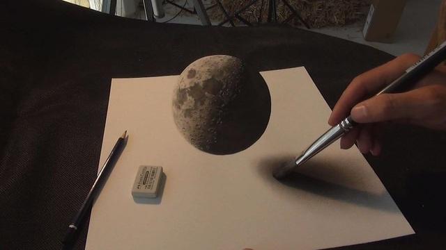 Choáng ngợp trước những bức vẽ 3D siêu chân thực - 9