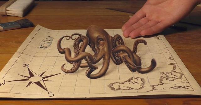 Choáng ngợp trước những bức vẽ 3D siêu chân thực - 5