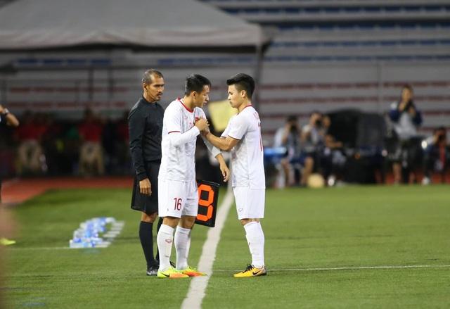 U22 Việt Nam 1-0 U22 Singapore: Đức Chinh ghi bàn quý giá - 14