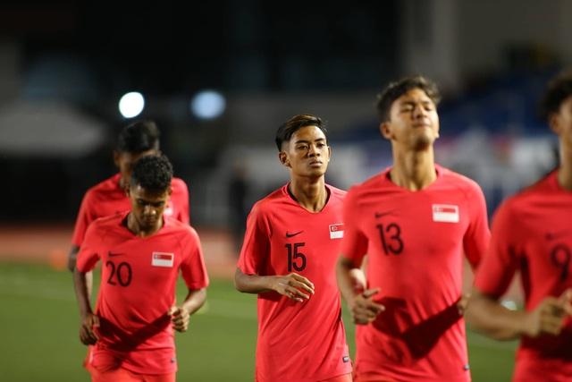 U22 Việt Nam 1-0 U22 Singapore: Đức Chinh ghi bàn quý giá - 31